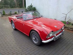 1962 Triumph TR4 For Sale by Auction