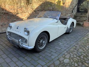 1956 Triumph TR3 For Sale by Auction