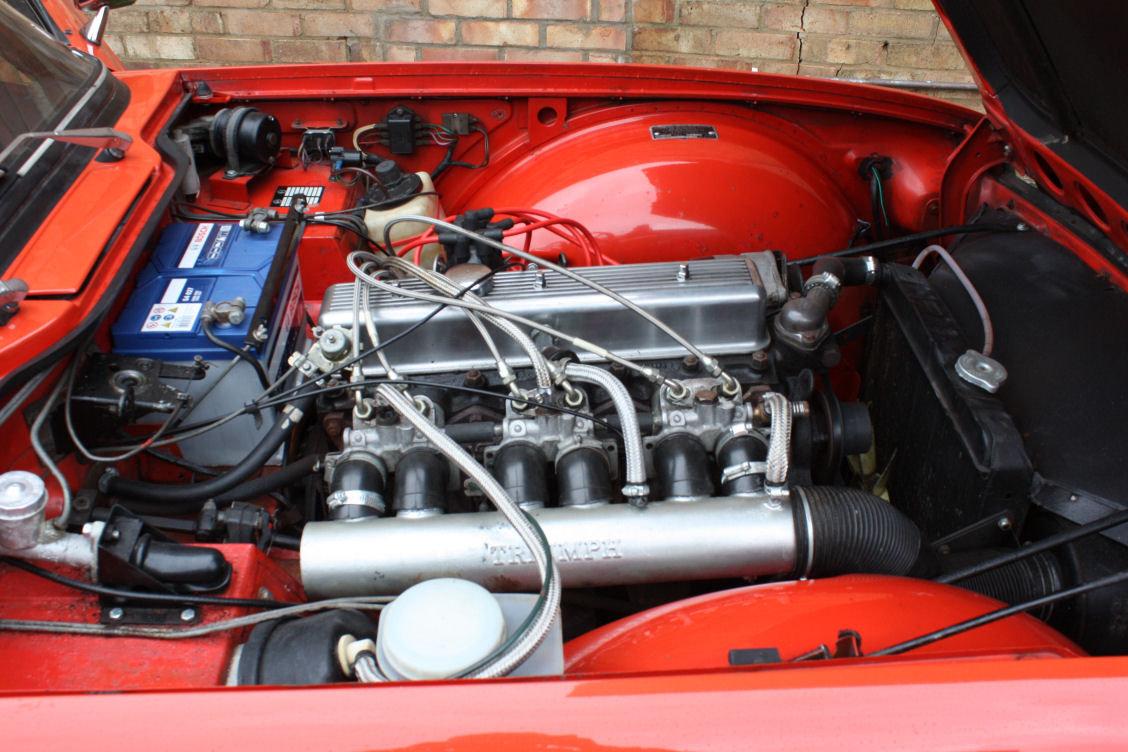 1972 TRIUMPH TR6 ORIGINAL 150BHP UK CAR IN RED SOLD (picture 6 of 6)
