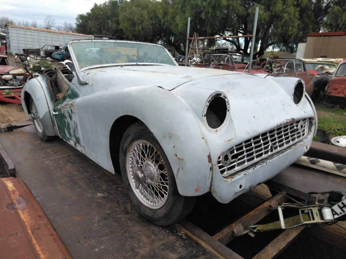 1960 Triumph TR3 For Sale (picture 2 of 6)