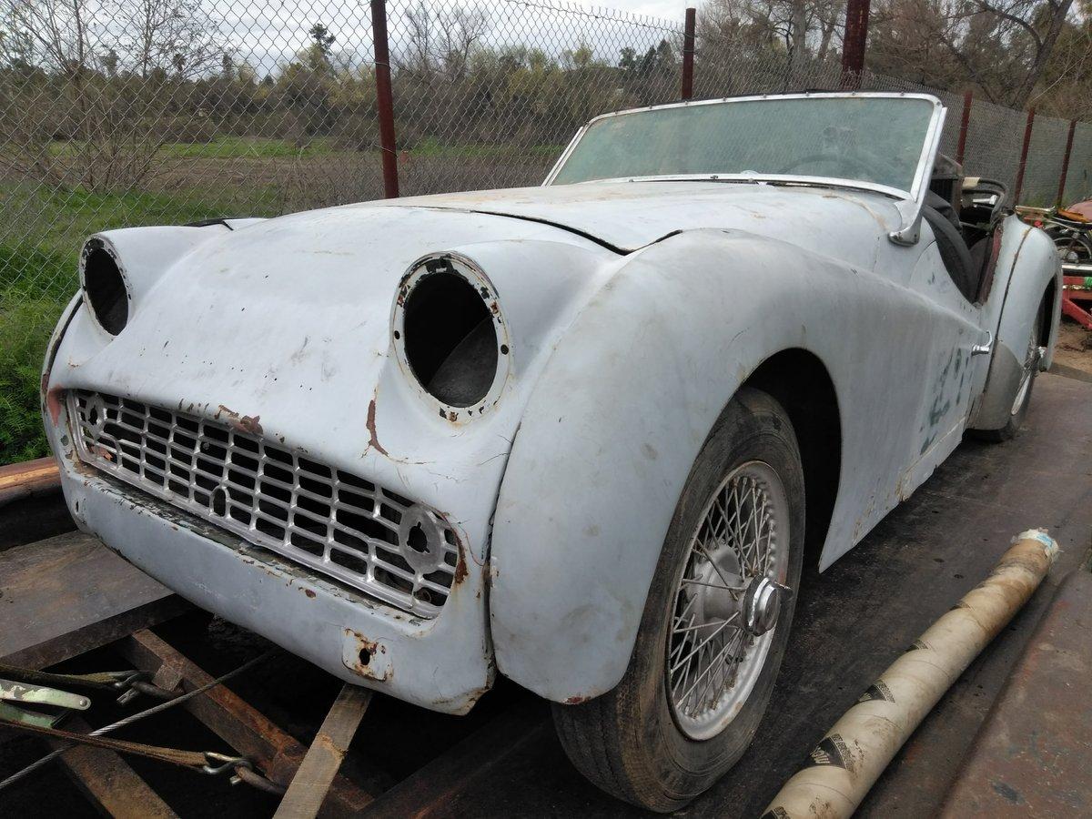 1960 Triumph TR3 For Sale (picture 6 of 6)