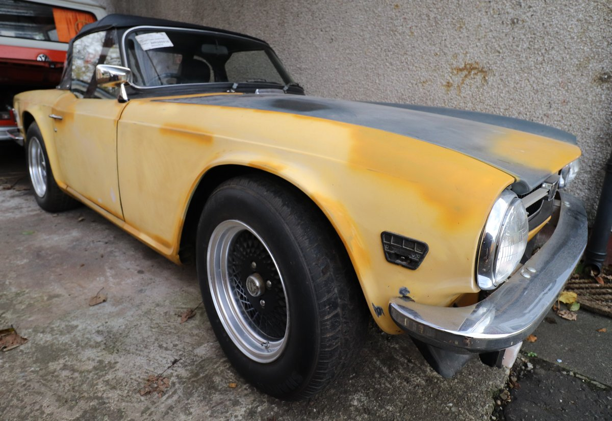 1975 Triumph TR6 (RHD Florida Import) For Sale (picture 1 of 6)