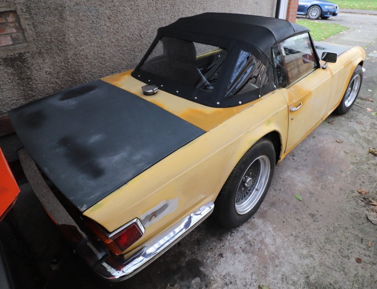1975 Triumph TR6 (RHD Florida Import) For Sale (picture 2 of 6)