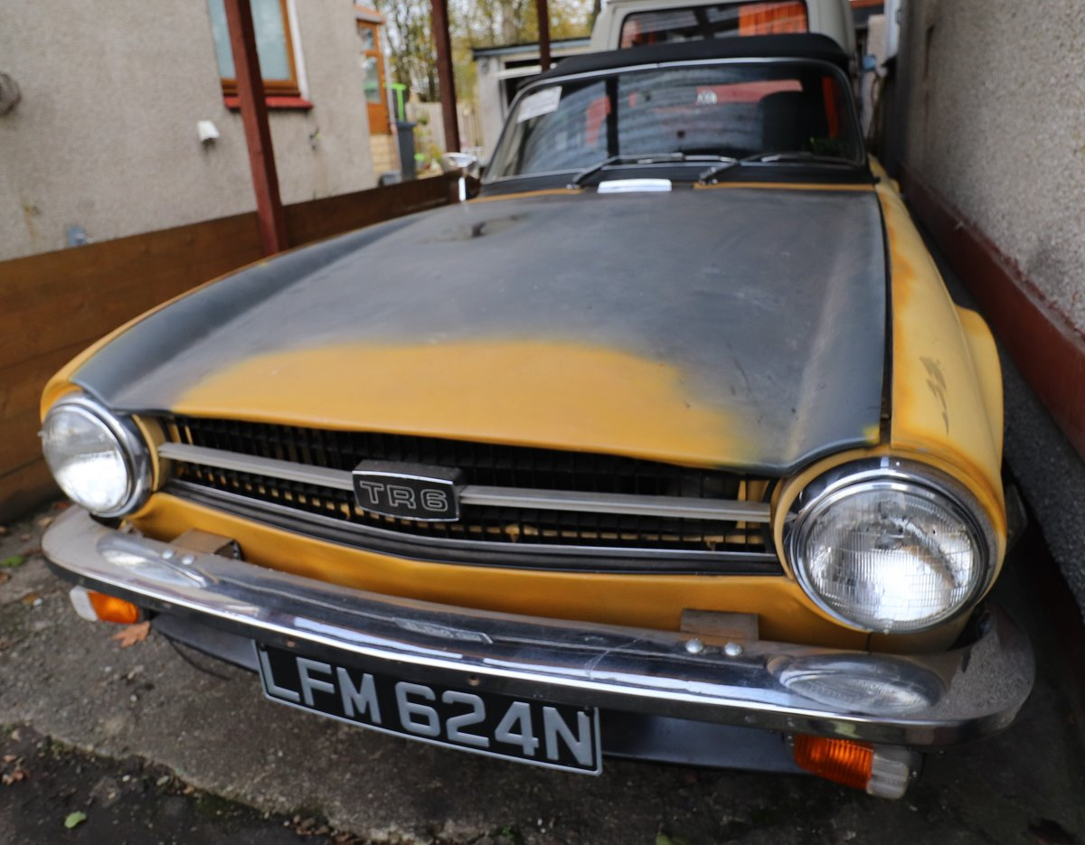 1975 Triumph TR6 (RHD Florida Import) For Sale (picture 3 of 6)