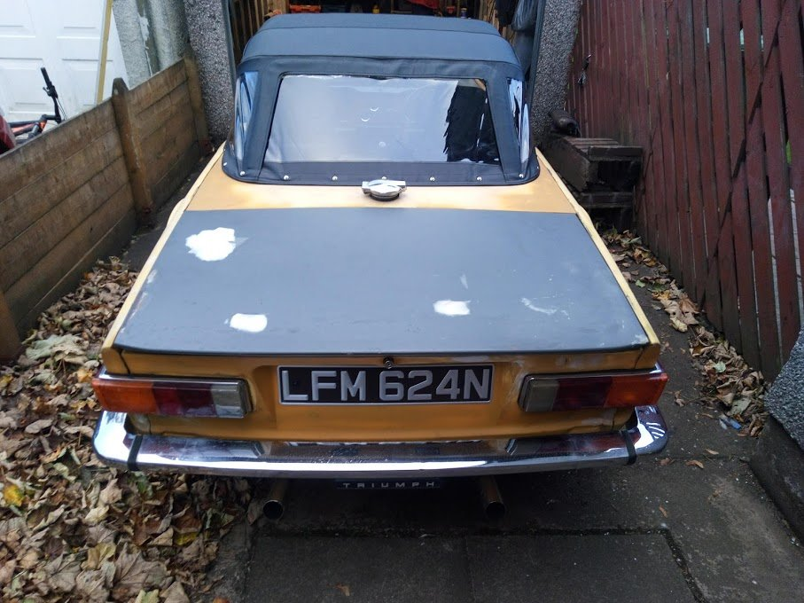 1975 Triumph TR6 (RHD Florida Import) For Sale (picture 6 of 6)