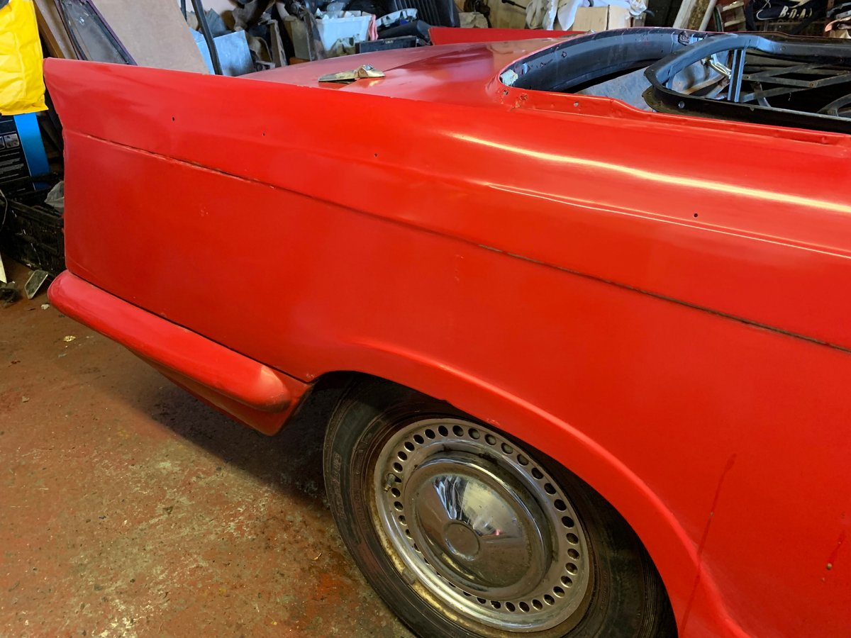 1971 Triumph Herald Convertible, 13/60, light project For Sale (picture 5 of 6)
