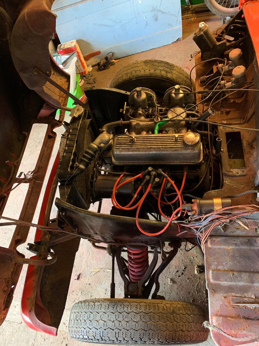 1971 Triumph Herald Convertible, 13/60, light project For Sale (picture 6 of 6)