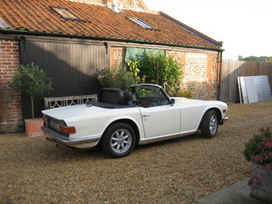 1973 TR6 PI with O/D For Sale