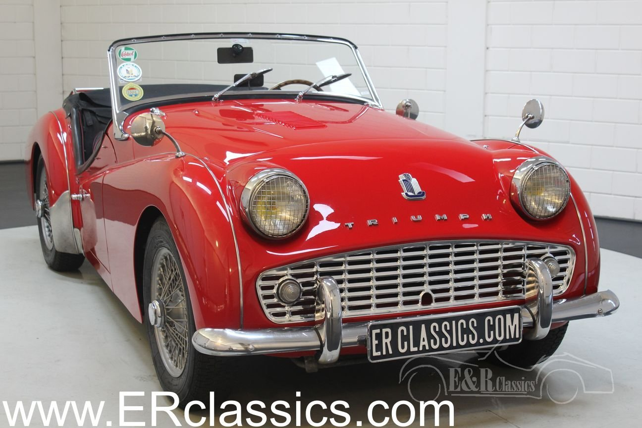 Triumph TR3A 1960 overdrive, restored For Sale (picture 1 of 6)