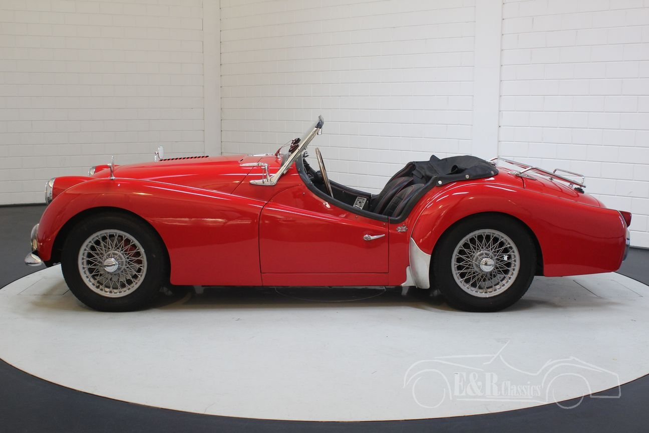 Triumph TR3A 1960 overdrive, restored For Sale (picture 5 of 6)