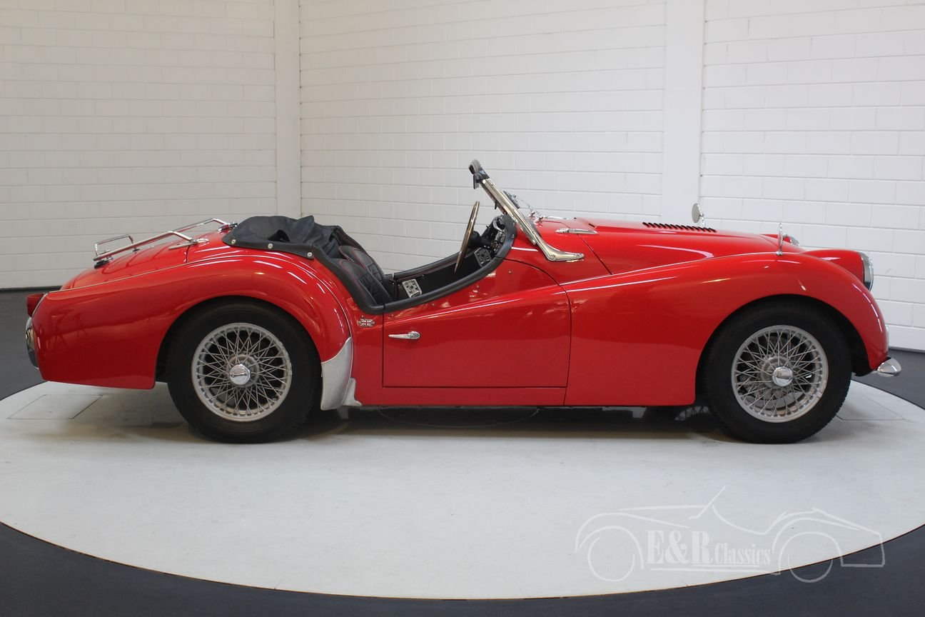 Triumph TR3A 1960 overdrive, restored For Sale (picture 6 of 6)