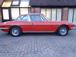 1976 Restored Red Mk11 Stag just finishing available for viewing.