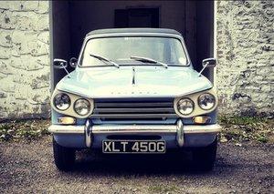 Triumph Vitesse Convertible Mk2 (1968) For Sale