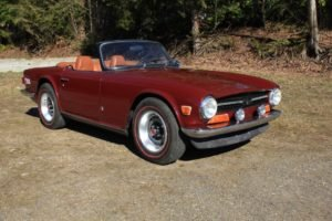 1972 Triumph TR6 Roadster = 59k miles clean driver $21.5k For Sale (picture 1 of 6)
