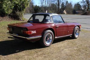1972 Triumph TR6 Roadster = 59k miles clean driver $21.5k For Sale (picture 2 of 6)