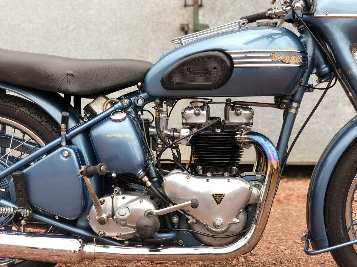 1952 Triumph 6T Thunderbird 650cc A Stunning Example!! For Sale (picture 3 of 6)