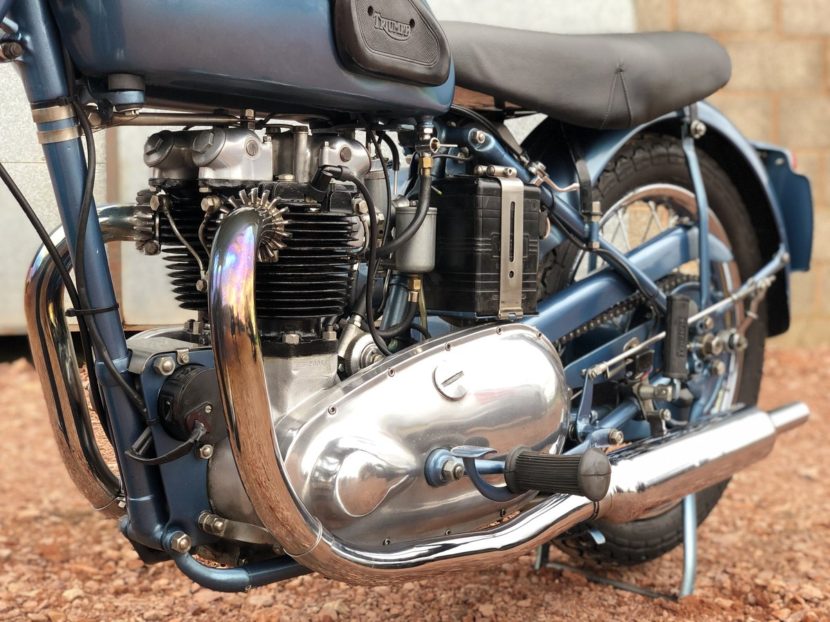 1952 Triumph 6T Thunderbird 650cc A Stunning Example!! For Sale (picture 4 of 6)