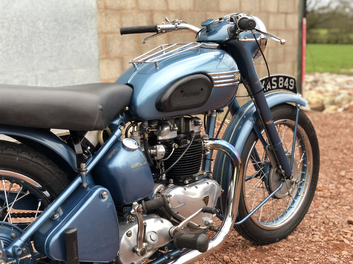 1952 Triumph 6T Thunderbird 650cc A Stunning Example!! For Sale (picture 5 of 6)