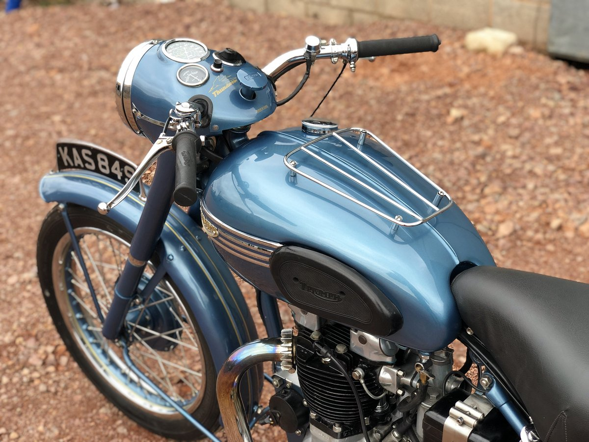 1952 Triumph 6T Thunderbird 650cc A Stunning Example!! For Sale (picture 6 of 6)