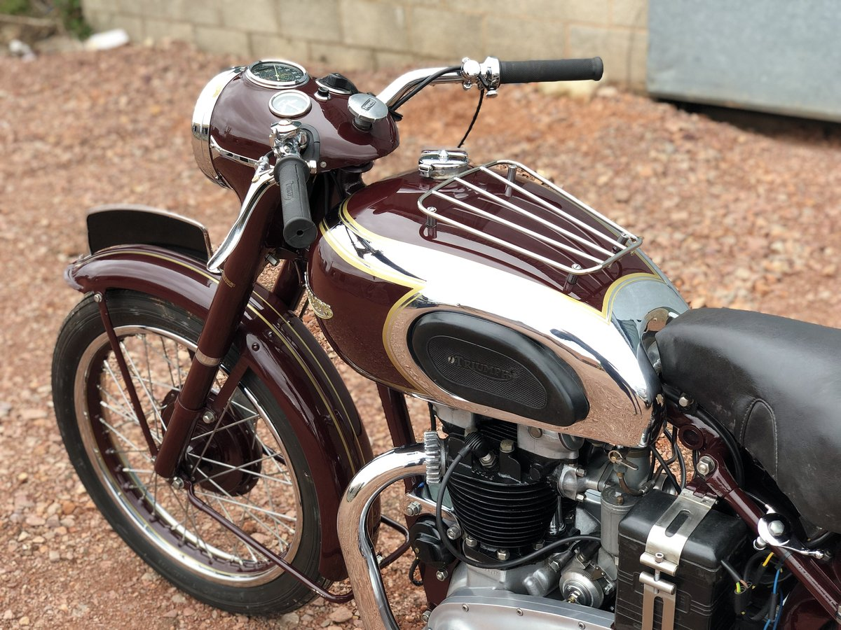 1949 Triumph 5T Speed Twin 500cc A Very Rare Year ! SOLD (picture 6 of 6)
