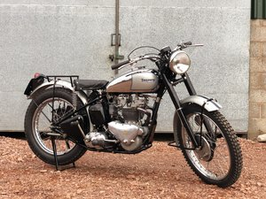 1952 Triumph TR5 Trophy 500cc A Glorious Machine!