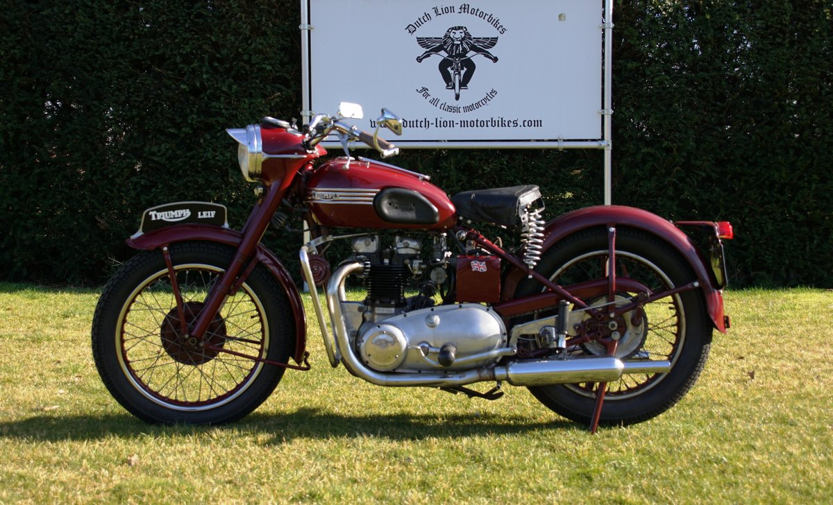Triumph Speed twin 5T from 1953 For Sale (picture 1 of 6)
