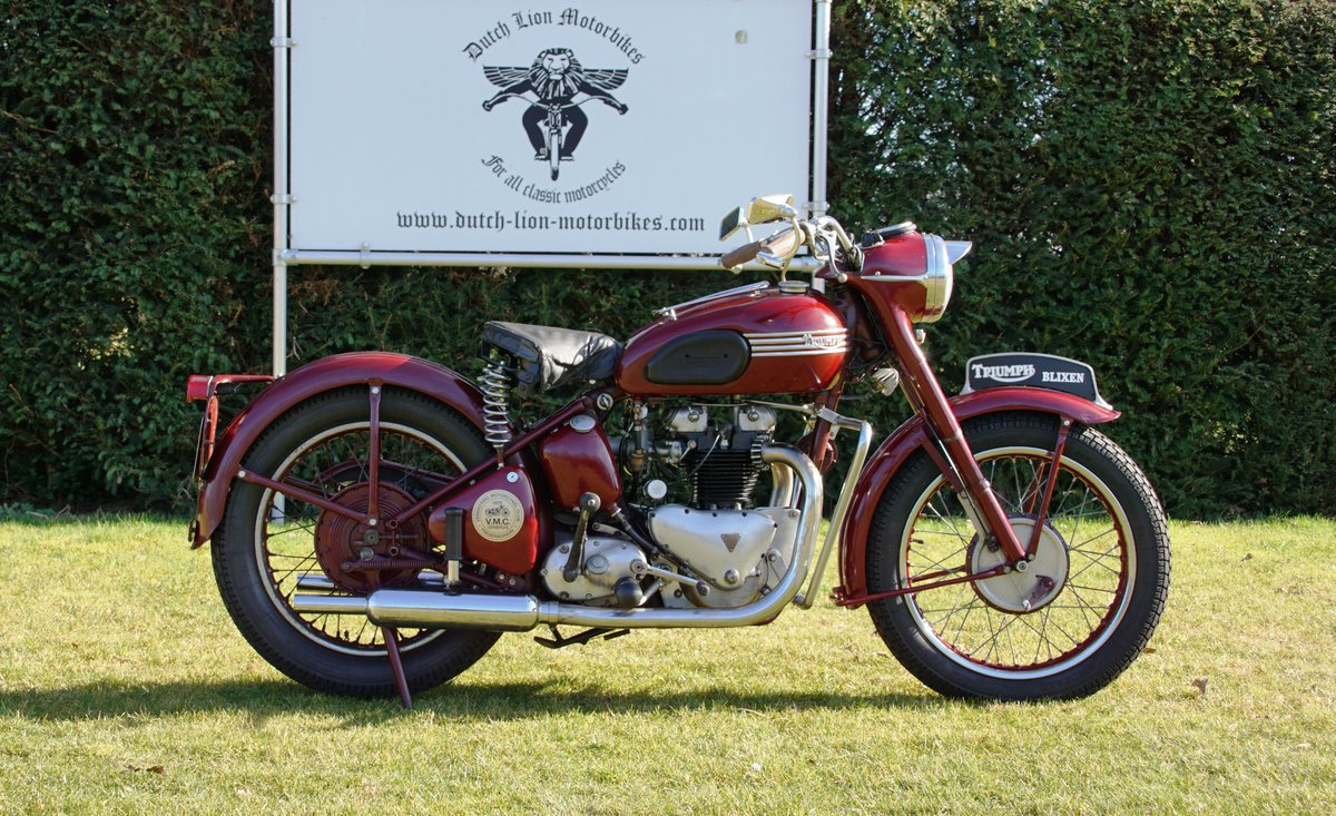 Triumph Speed twin 5T from 1953 For Sale (picture 4 of 6)