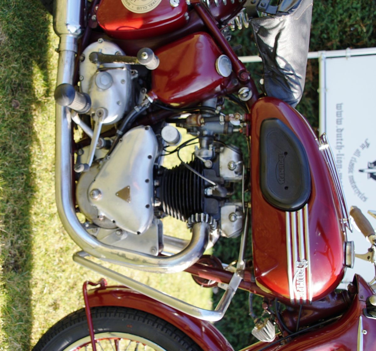 Triumph Speed twin 5T from 1953 For Sale (picture 5 of 6)