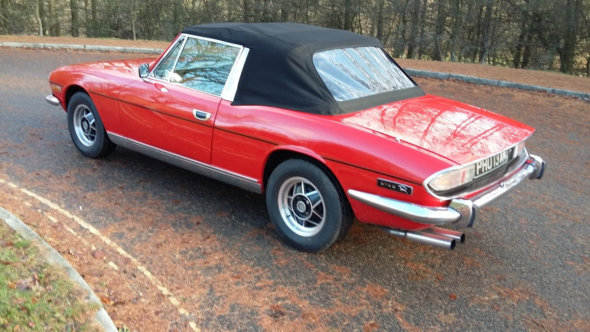 1973 Beautiful Triumph Stag  For Sale (picture 4 of 6)