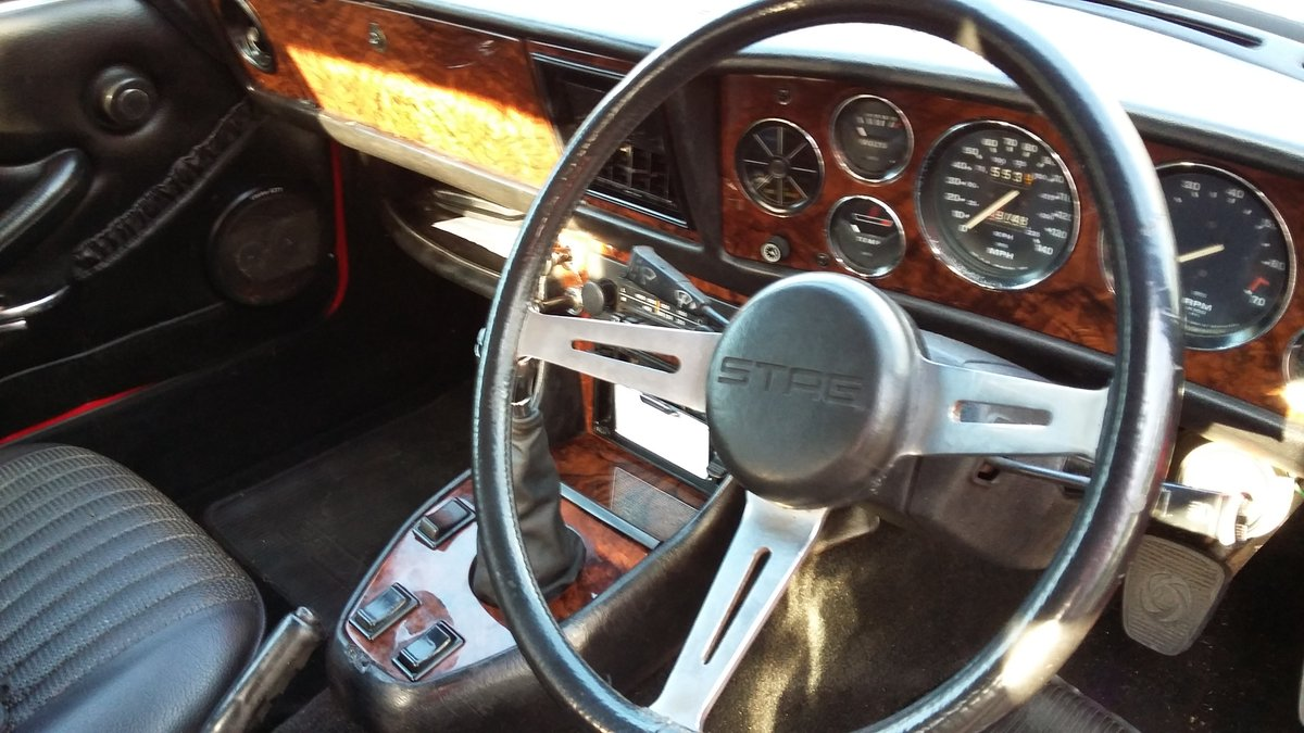 1973 Beautiful Triumph Stag  For Sale (picture 5 of 6)