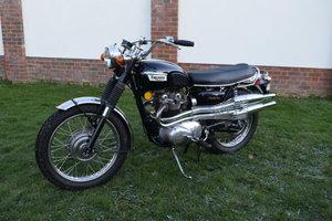 1971 Triumph 100C Trophy 500 For Sale by Auction