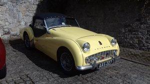1957 Triumph tr3a For Sale