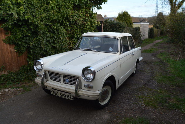 1969 Triumph Herald For Sale by Auction (picture 1 of 1)
