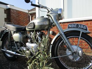 1955 Triumph Thunderbird 6t For Sale