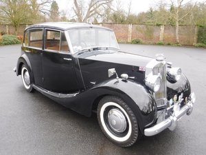 **REMAINS AVAILABLE**1952 Triumph Renown For Sale by Auction