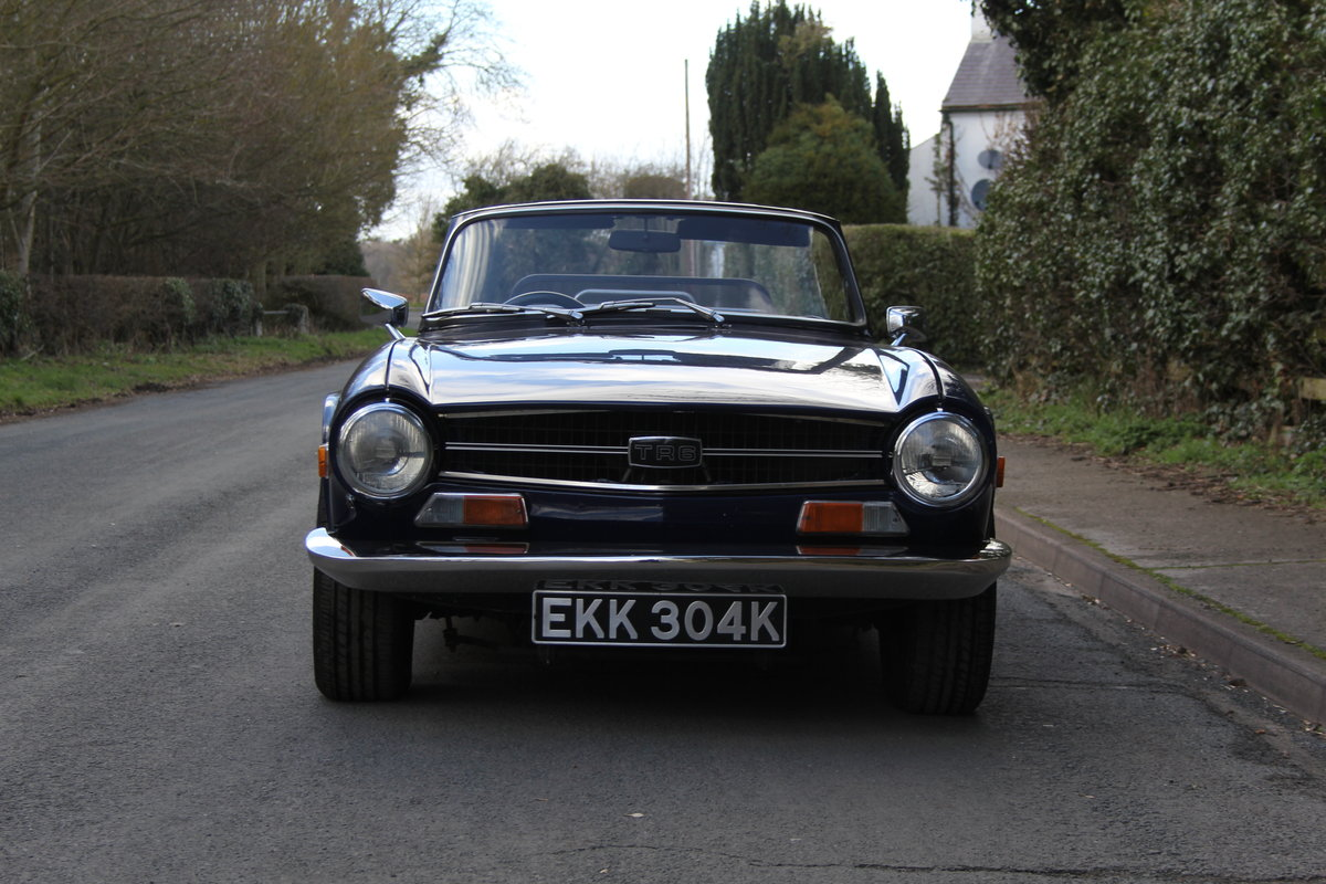 1971 Triumph TR6 150BHP O/D, recent overseas touring For Sale (picture 2 of 12)