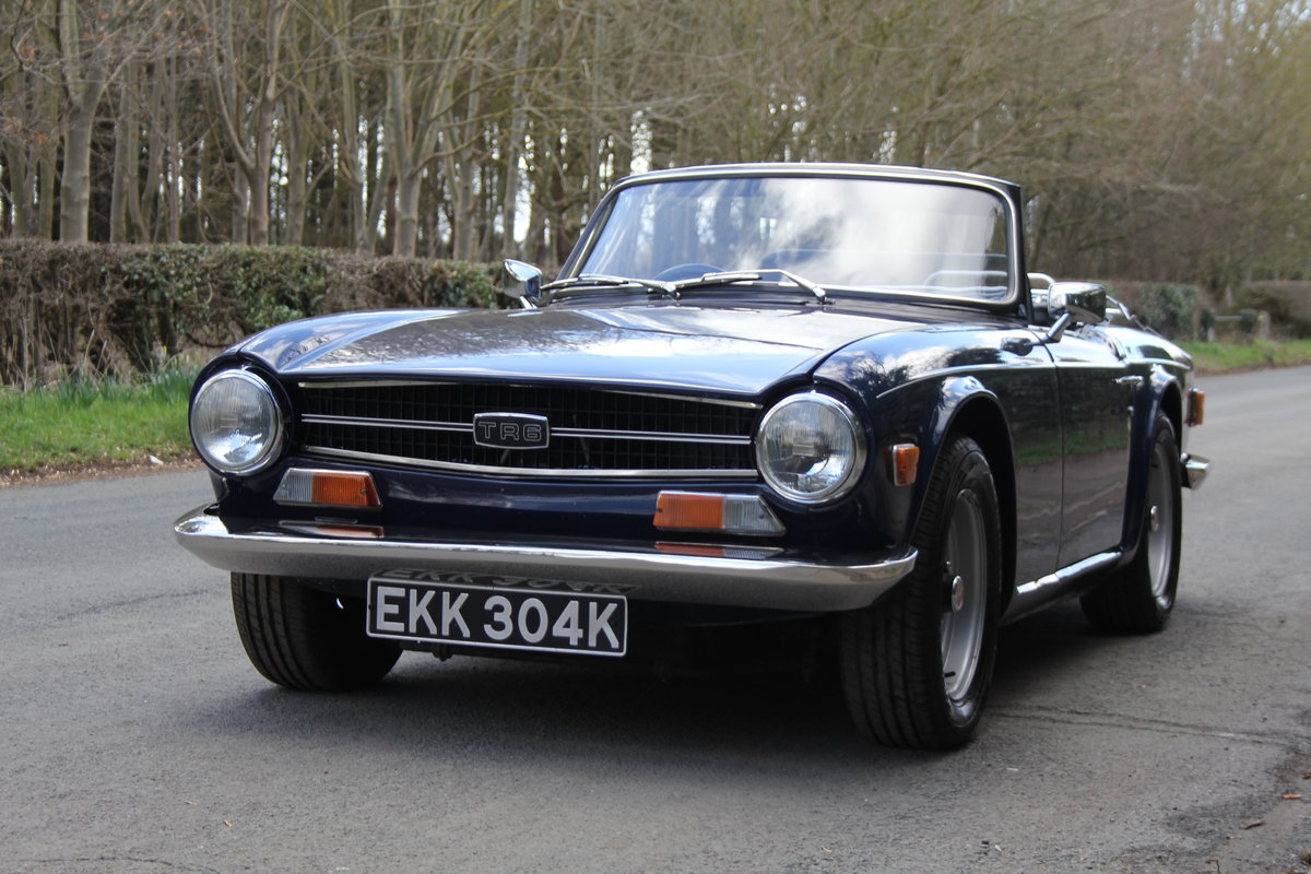 1971 Triumph TR6 150BHP O/D, recent overseas touring For Sale (picture 3 of 12)
