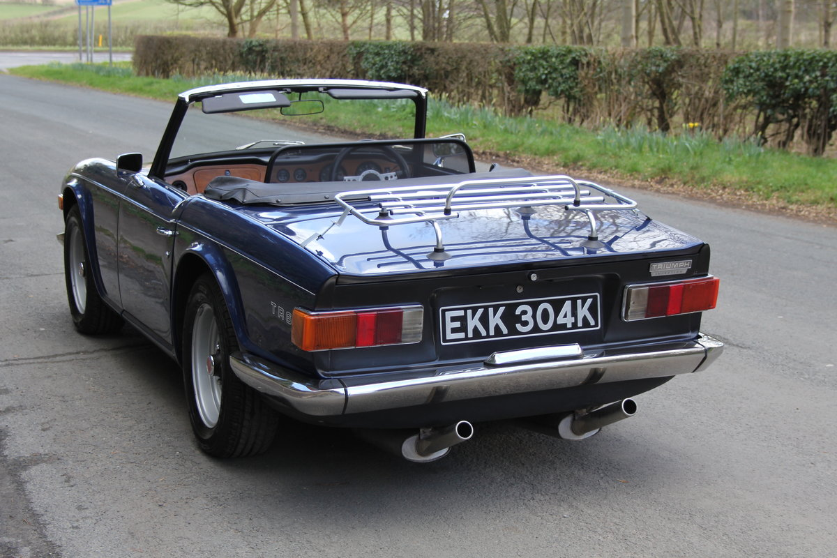 1971 Triumph TR6 150BHP O/D, recent overseas touring For Sale (picture 4 of 12)