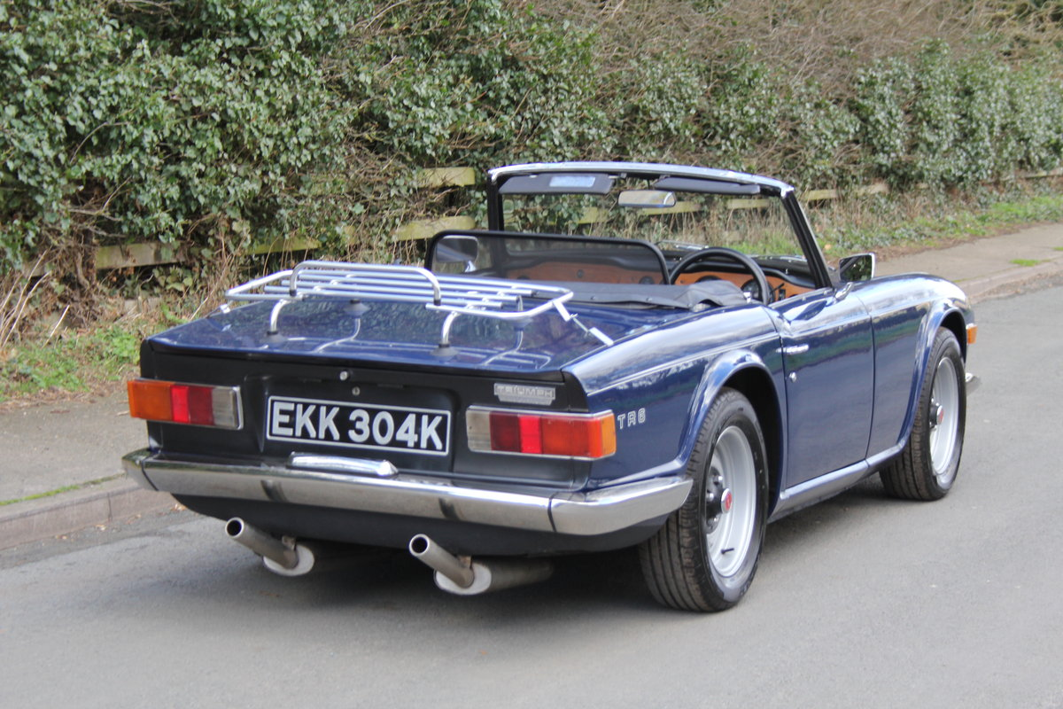 1971 Triumph TR6 150BHP O/D, recent overseas touring For Sale (picture 5 of 12)