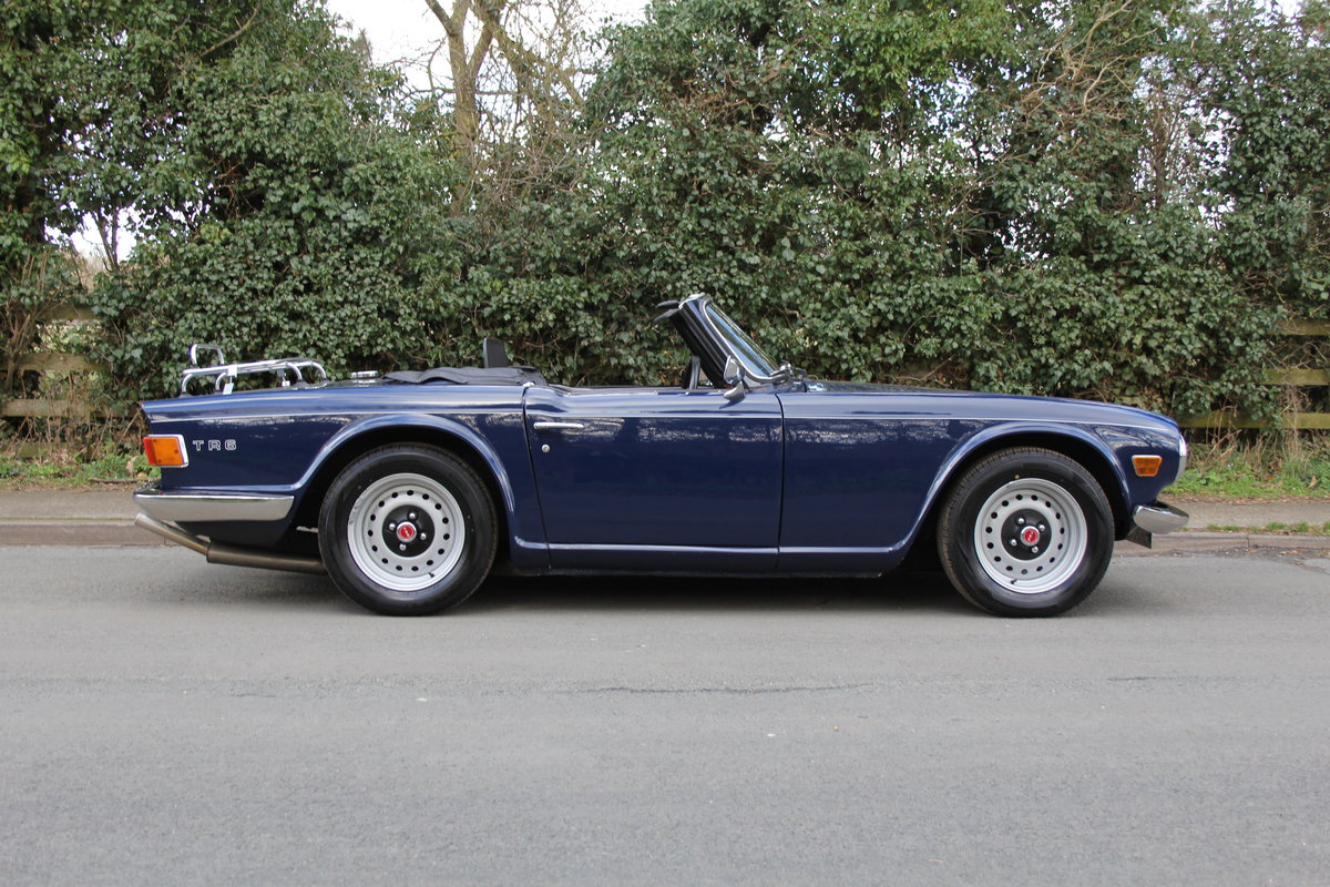1971 Triumph TR6 150BHP O/D, recent overseas touring For Sale (picture 6 of 12)