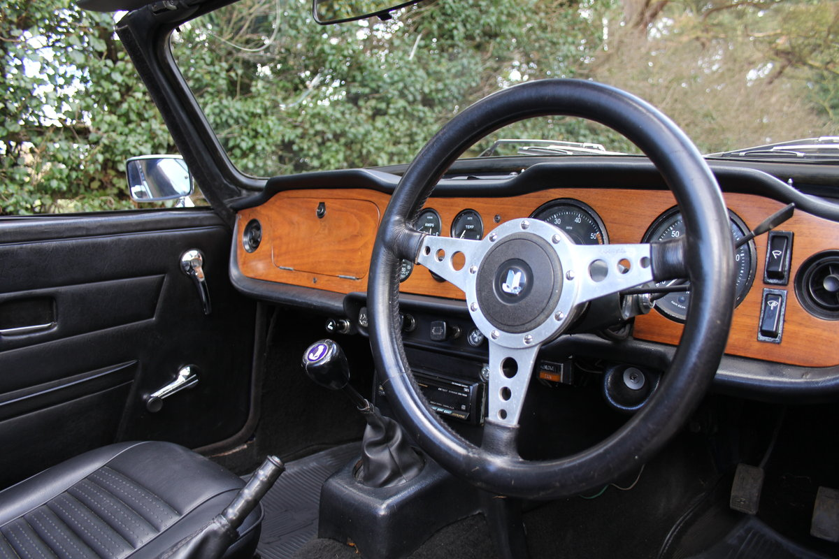 1971 Triumph TR6 150BHP O/D, recent overseas touring For Sale (picture 7 of 12)