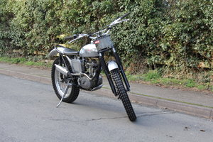 Triumph T20 Tiger Cub Trials