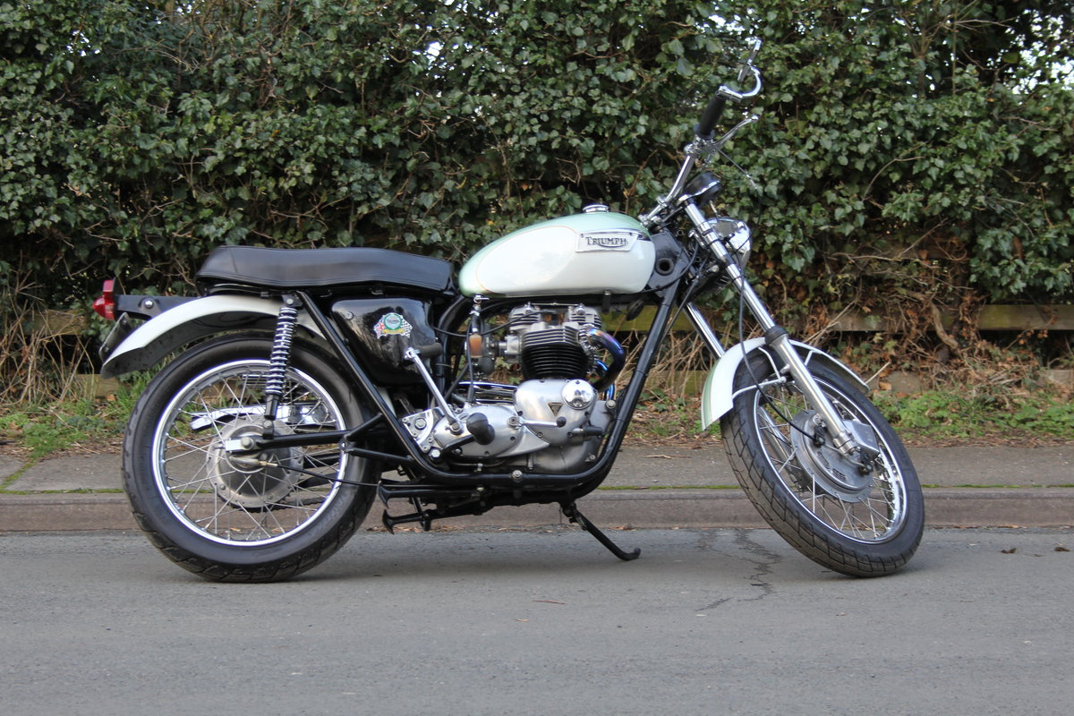 1971 Triumph Trophy 650cc High Pipe For Sale (picture 7 of 12)
