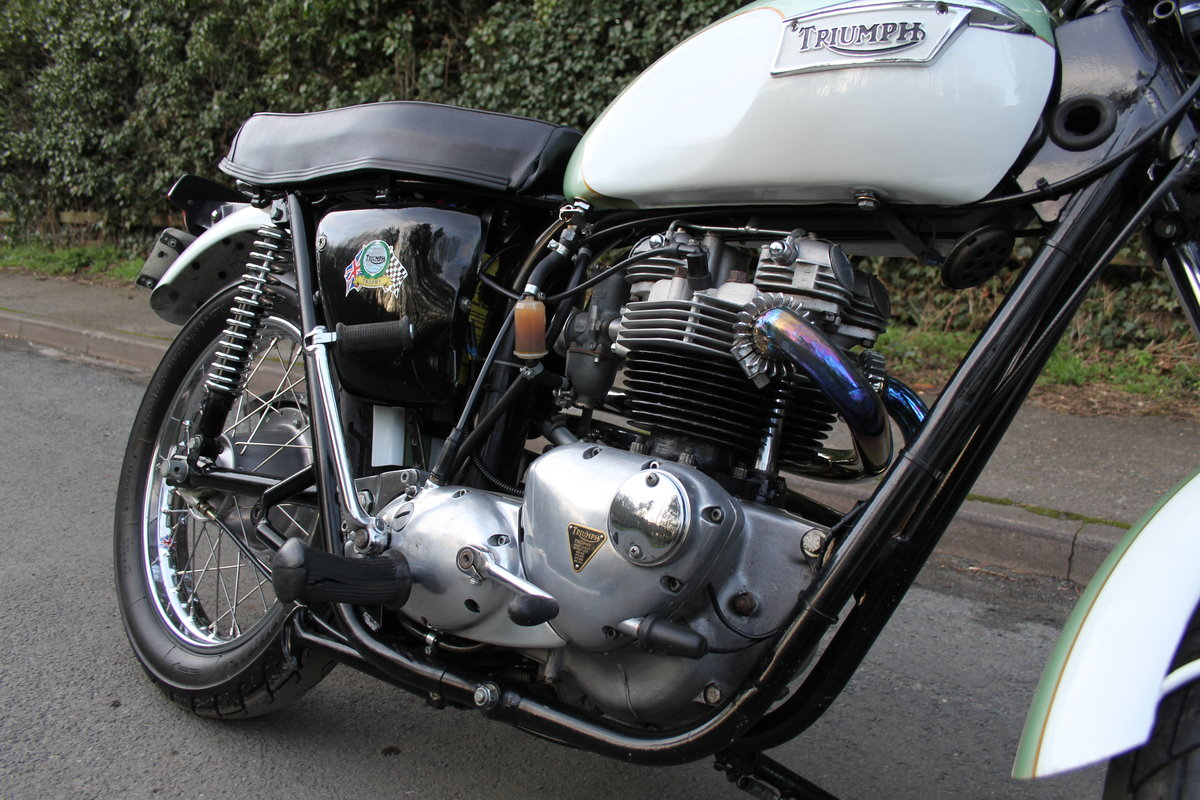 1971 Triumph Trophy 650cc High Pipe For Sale (picture 10 of 12)