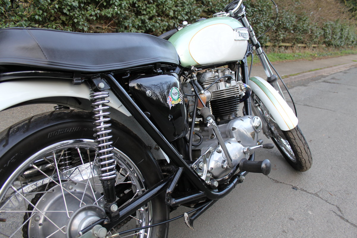 1971 Triumph Trophy 650cc High Pipe For Sale (picture 11 of 12)