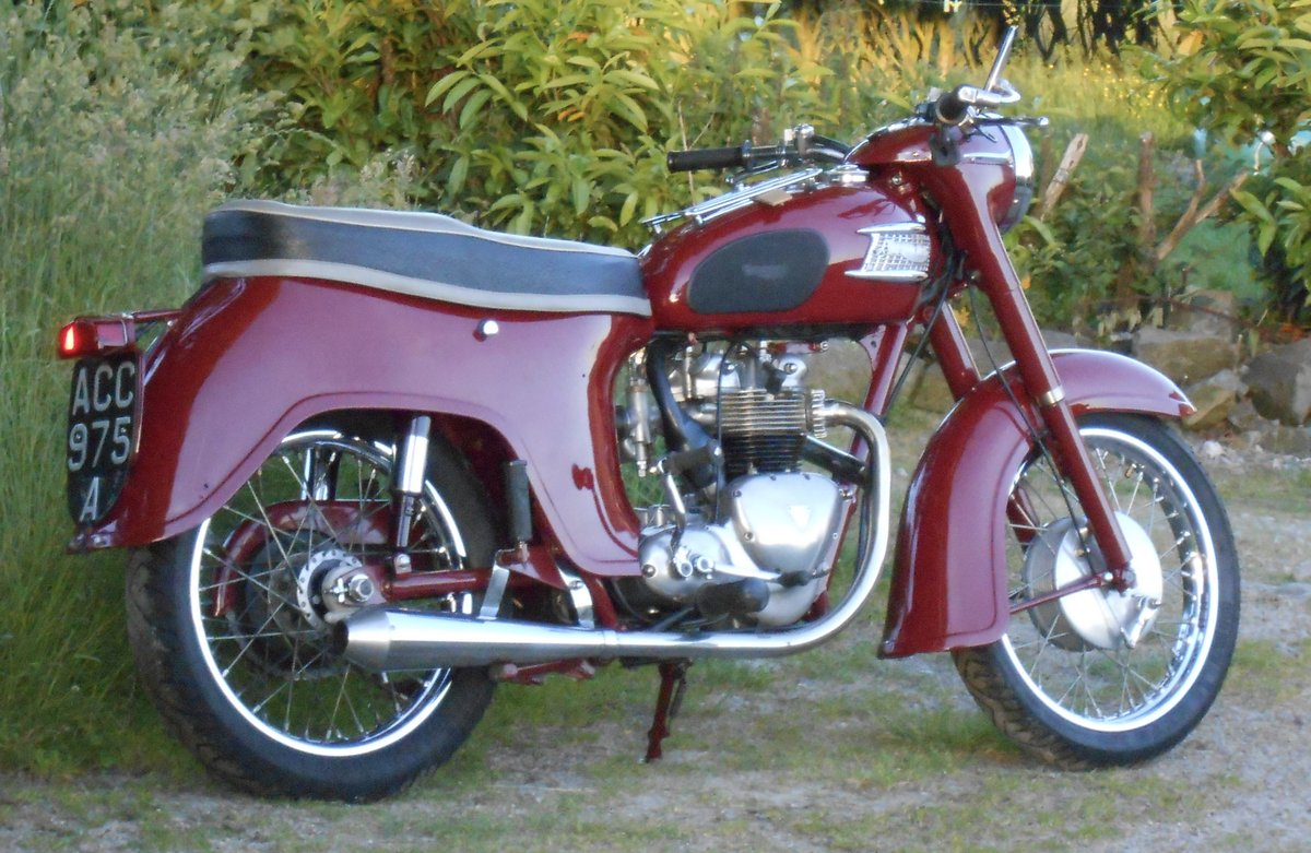 1963 TRIUMPH SPEED TWIN 5TA 500cc For Sale (picture 6 of 9)