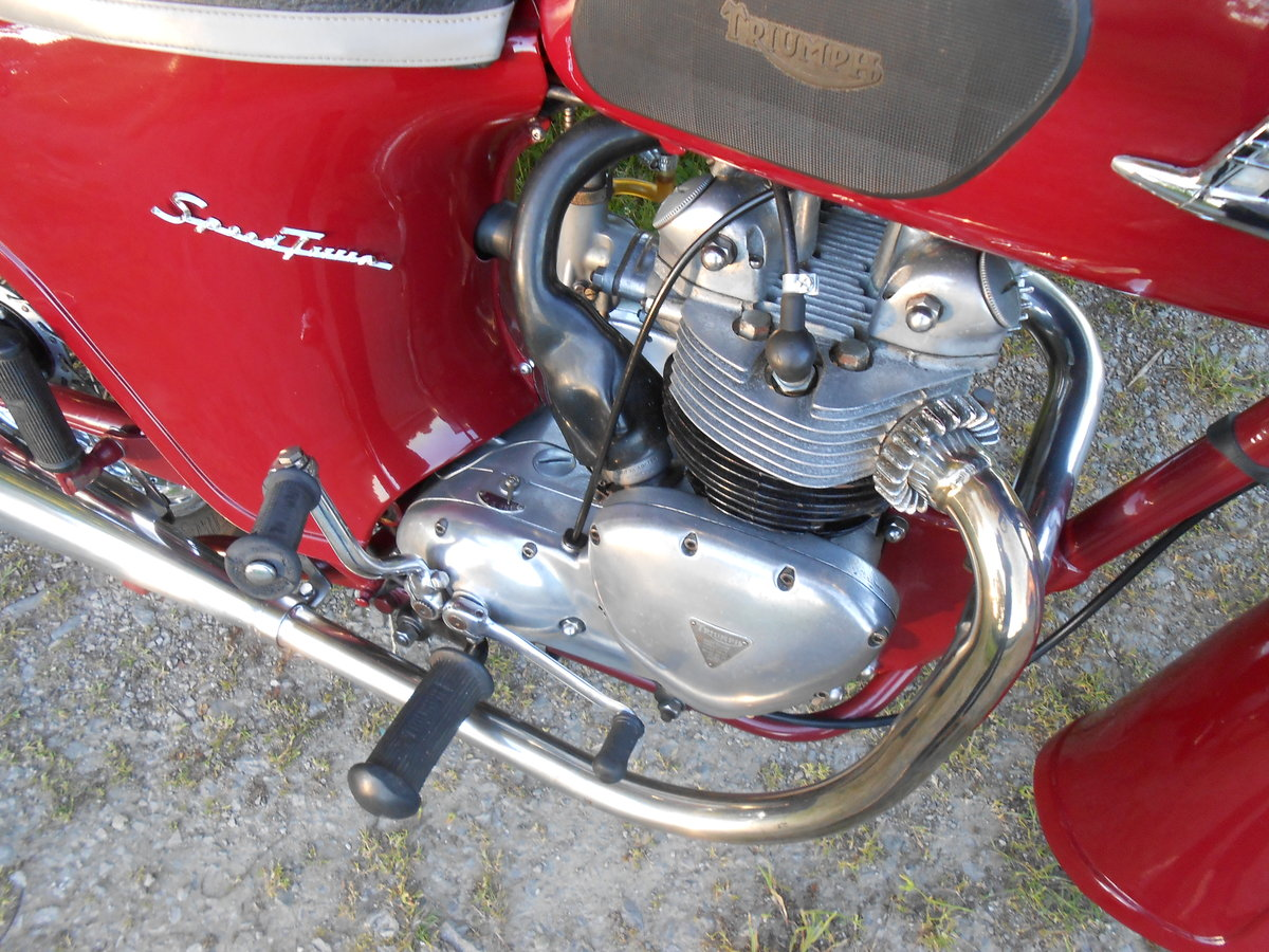 1963 TRIUMPH SPEED TWIN 5TA 500cc For Sale (picture 8 of 9)