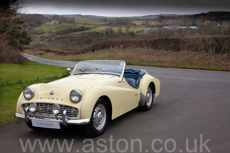 1959 Triumph TR3A For Sale (picture 1 of 6)