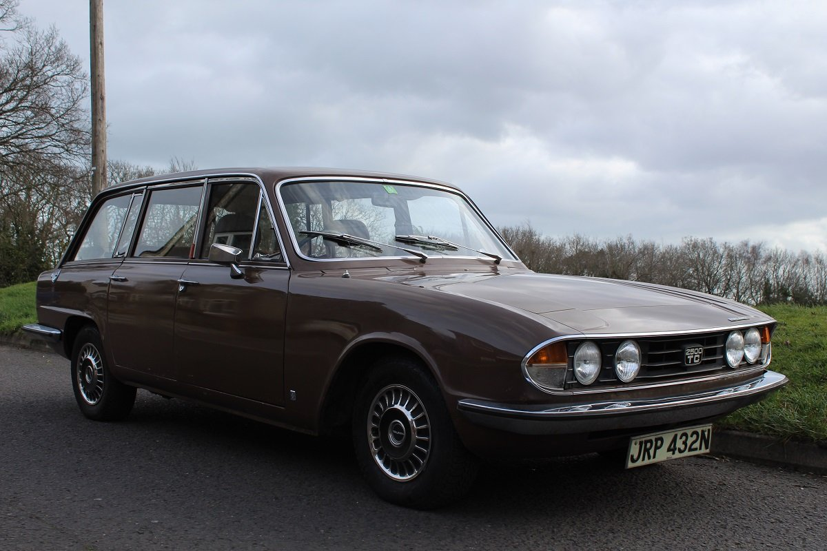 Triumph 2500 TC 1975 - to be auctioned 26-04-19 For Sale by Auction (picture 1 of 6)