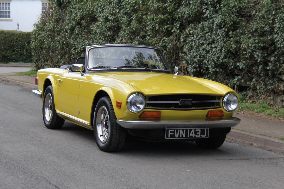 1971 Triumph TR6 - Proven overseas tourer SOLD (picture 1 of 12)